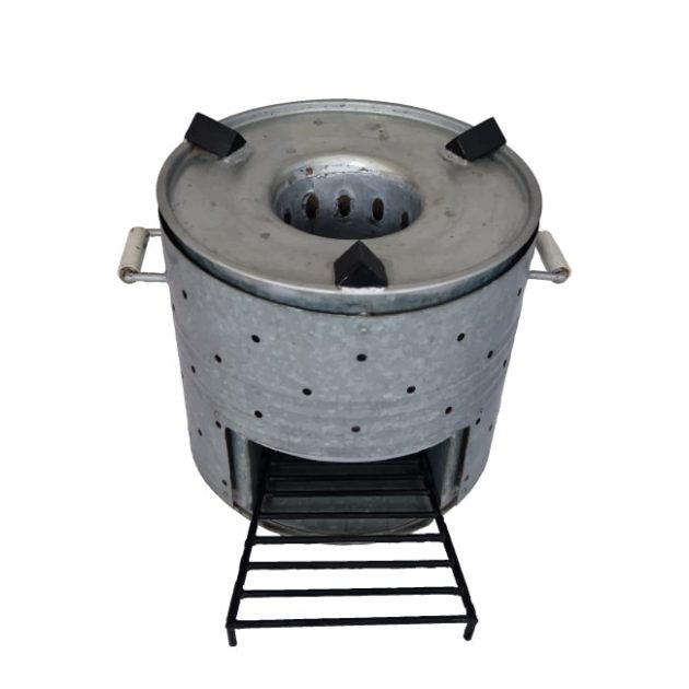 Community Smokeless Chulha Clean Cook Stove FireWood Angithi