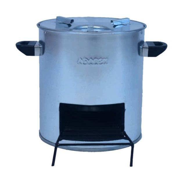 Frontside Photo Smokeless Chulha Clean Cook Stove FireWood Angithi